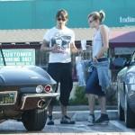 Anthony Kiedis and Yohanna Logan supermarket