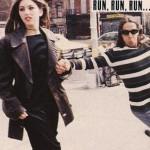 Anthony Kiedis and ex-girlfriend Sofia Coppola on NY street