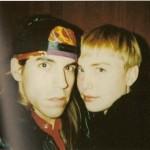 Anthony Kiedis and ex-girlfriend Carmen Hawk