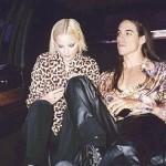 anthony Kiedis Jaime Rishar leopard print top