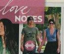 Anthony Kiedis with ex-girlfriend Laura Freedman