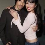 Anthony Kiedis with ex-girlfriend Lola Corwin