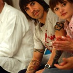 Anthony Kiedis with ex-girlfriend Yohanna Logan