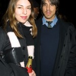 Anthony Kiedis with ex-girlfriend Sofia Coppola