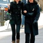 Anthony Kiedis with ex-girlfriend Jessica Stam